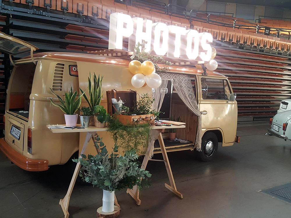 Retrobudka Photobus na wesele