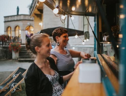 Gofry, rower kawowy, fotobudka czy barman na weselu Ani i Bartka