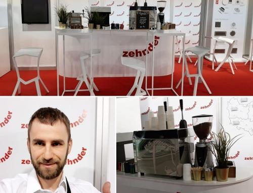 Pracujemy na targach w Warszawie dla firmy Zehnder